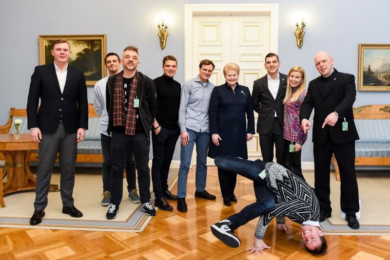 Kampanijos ambasadoriai įsipareigoja keisti Lietuvą