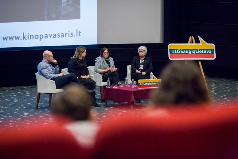 """Visoje Lietuvoje vyks kampanijos """"Už saugią Lietuvą"""" ir """"Kino pavasario"""" seansai-diskusijos"""