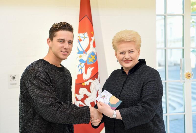 """Kampanijos """"Už saugią Lietuvą"""" ambasadoriumi tapo Donatas Montvydas"""