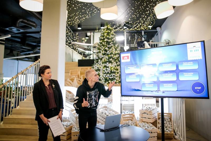 Kelionė su Prezidente į Laplandiją – globos namų vaikams