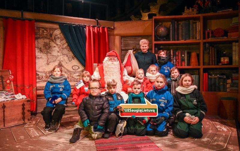 Kalėdų Senelį pasiekė Lietuvos vaikų svajonės