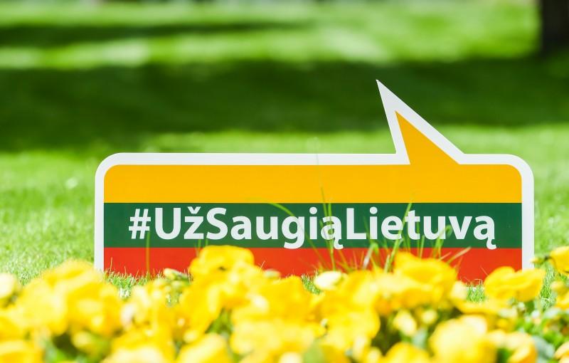 """Kampanijoje """"Už saugią Lietuvą"""" – nepamiršta pagalba garbaus amžiaus žmonėms"""
