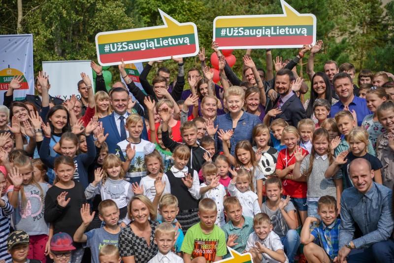 Prezidentės iniciatyva – vasaros atostogos tūkstančiams vaikų