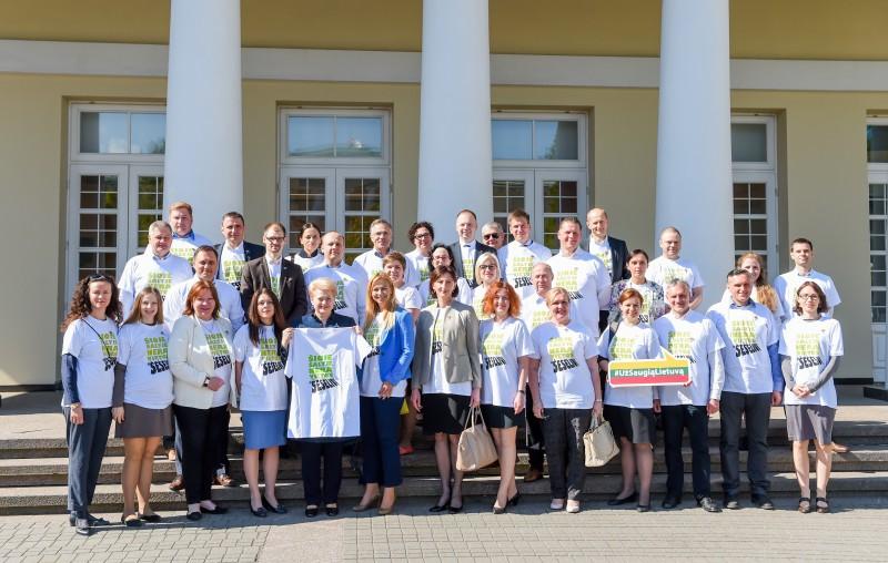 """Skaidrus verslas jungiasi prie  kampanijos """"Už saugią Lietuva"""""""