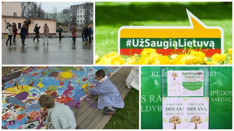 Meno projektai - saugesnei Lietuvai kurti