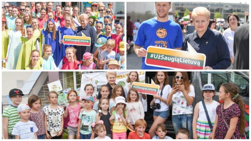 """""""Už saugią Lietuvą"""" – turiningam vaikų laisvalaikiui vasarą"""