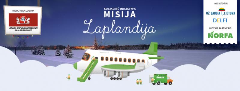 """""""Misija Laplandija"""" pildys vaikų svajones"""