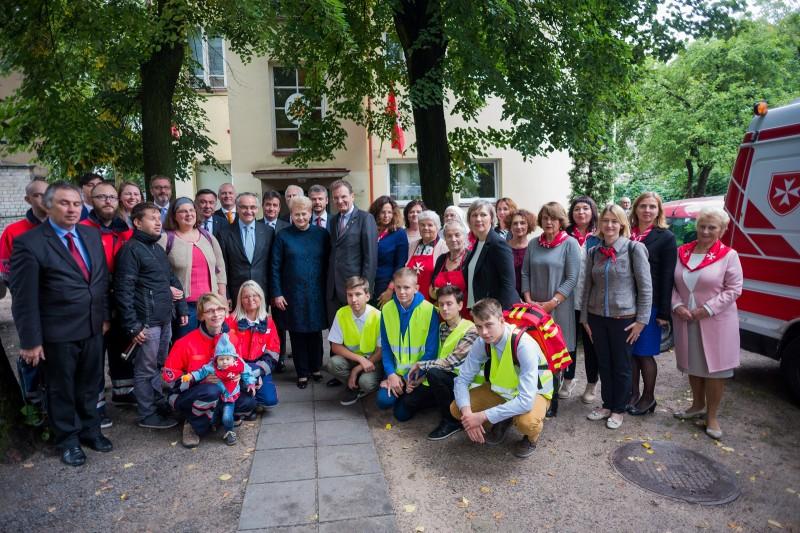 Maltiečiai – neatskiriama saugios Lietuvos dalis