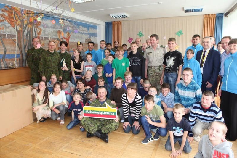 """NATO pajėgų integravimo vadavietė jungiasi prie kampanijos """"Už saugią Lietuvą"""""""
