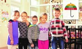 """""""Lidl"""" vaikų dienos centrų paramos iniciatyvai – mėnuo: jau surinkta per 3 000 eurų"""