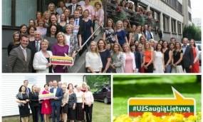 """,,Už saugią Lietuvą"""" partneriai – ir ministerijos, ir savivaldybių kolektyvai"""