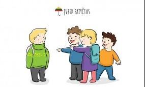 """Kovai su patyčiomis – naujas interaktyvus kampanijos """"Už saugią Lietuvą"""" įrankis"""