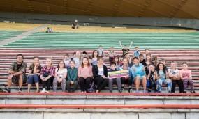 Vilniaus dienos centrų vaikams turininga vasara – su žymiais šalies sportininkais