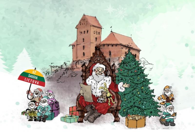 Kalėdų Senelių sostinė Trakai švęs socialiai atsakingas Kalėdas