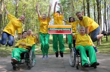 Žaidimai be sienų. Renginys neįgaliems jaunuoliams Vilniuje.