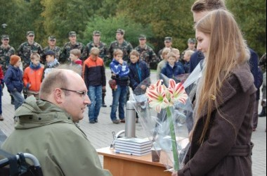 Istorijos ir pilietiškumo pamoka Medininkų memoriale