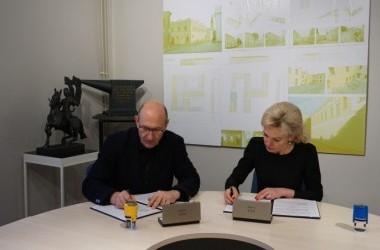 Bendradarbiavimo gairės tarp Vilniaus dailės akademijos Kauno fakulteto ir Kauno pedagogų kvalifikacijos centro