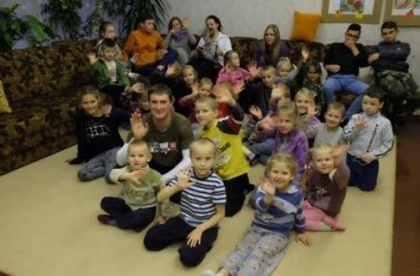 """""""Misija Sibiras"""" ekspedicijų pristatymai vaikų namuose"""