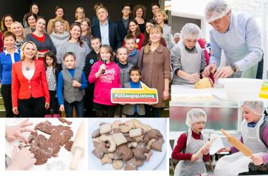 SOS vaikų dienos centro auklėtiniai ERGO bendrovėje įgijo naują patirtį