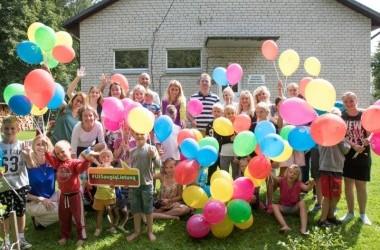 """""""Gjensidige"""" apsilankymas Tulpiakiemio vaikų dienos centre"""