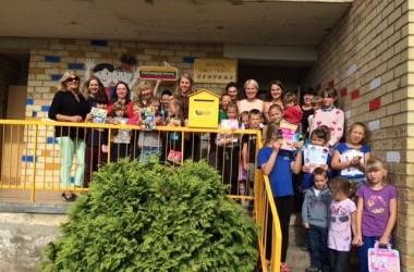 Edukacinės pašto istorijos ir filatelijos pamokos dienos centrų vaikams