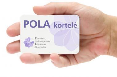 POLA kortelė