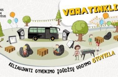 """Keliaujanti įgūdžių stovykla """"VORATINKLIS"""""""